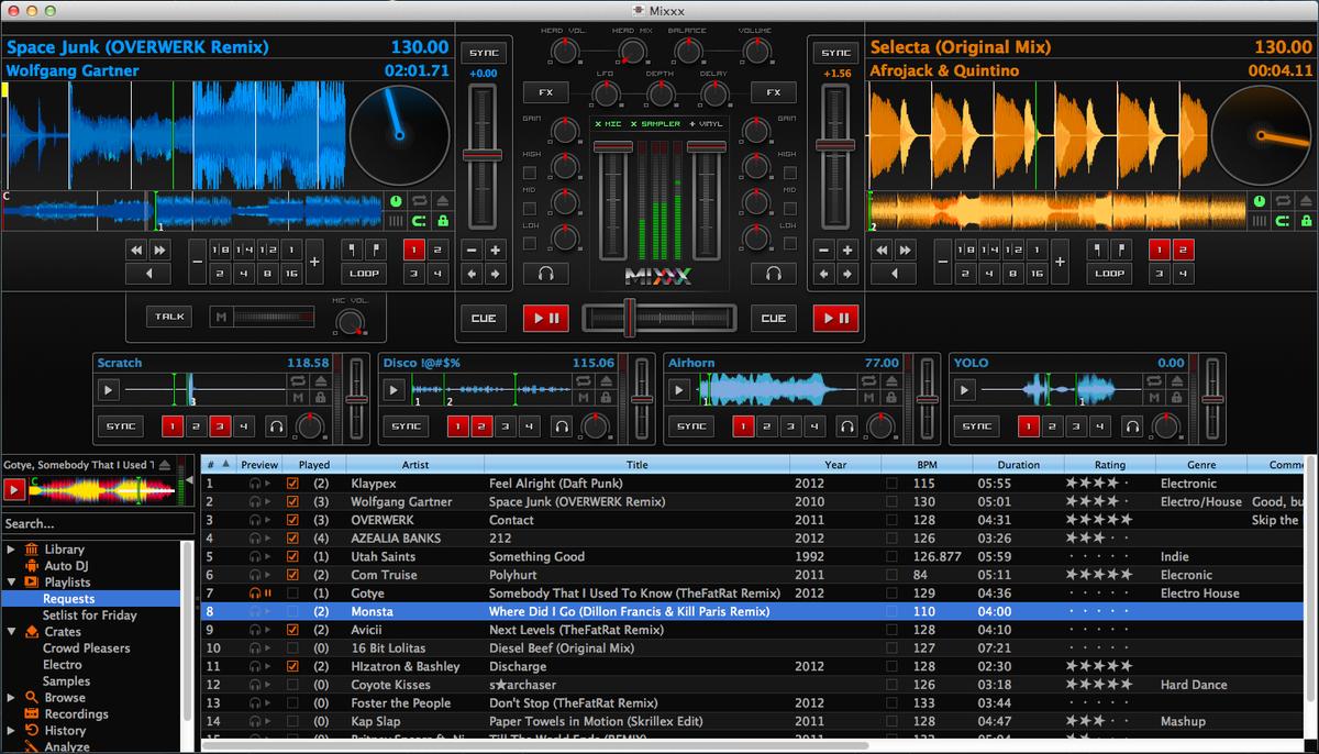 Easily mixing audio music video and karaoke on Windows or Mac