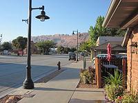 Moab, Utah looking south.JPG