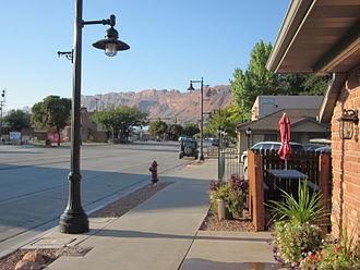 Moab, Utah - Southbound Main Street (U.S. 191) (2012)