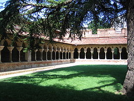 Cloister of the Saint-Pierre abbey