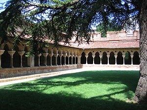 Moissac - Cloister of the Saint-Pierre abbey