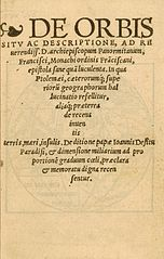 Front cover of third edition of pamphlet