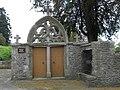 Montanel (50) Portail de l'ancien presbytère 02.jpg