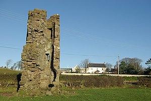 Montfode Castle - The ruins of Montfode Castle