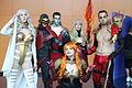 Montreal Comiccon 2015 - Dark Phoenix and the Phoenix Five (19472001712).jpg