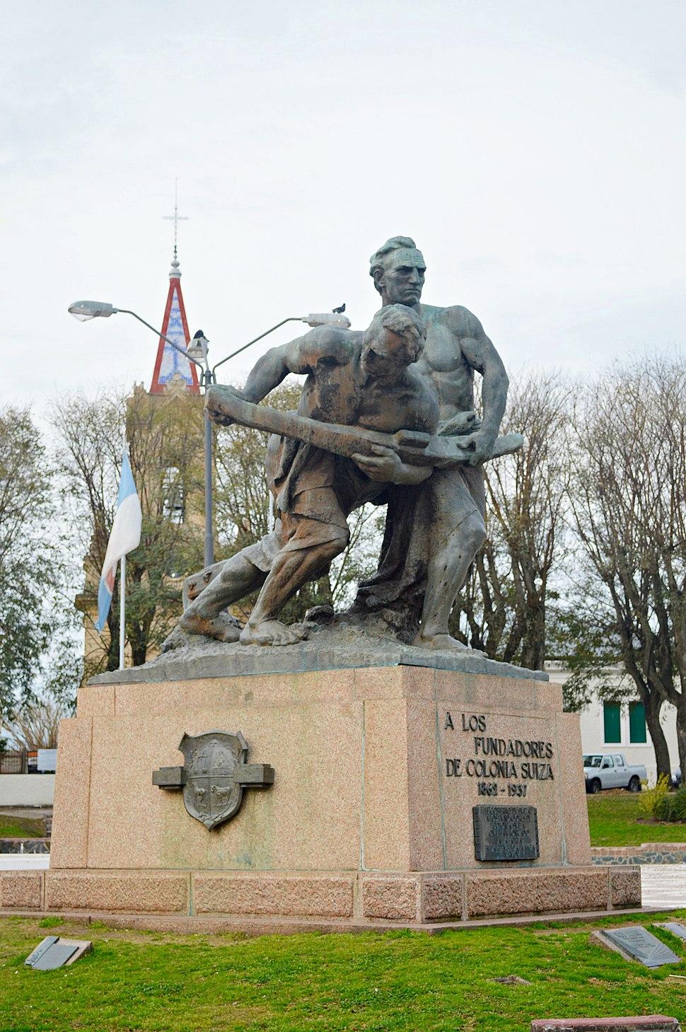 Monumento a los fundadores de Nueva Helvecia1