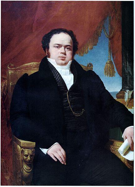 File:Monvoisin, Raymond - Mariano Egaña -1827 ost 117x90 BcoCentralcl.jpg