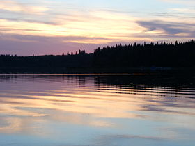 Moose Lake Sunset.JPG