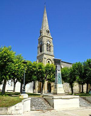 Mortagne-sur-Gironde - Church Saint-Étienne