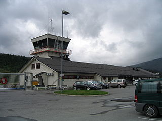 Mosjøen Airport, Kjærstad airport in Nordland, Norway