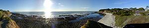 Moss Beach, California - A panorama of Moss Beach