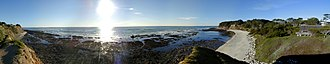 Moss Beach, California - A panorama of Moss Beach