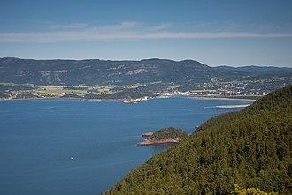 Stjørdalshalsen - View of the town
