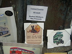 Mother Day Gifts - Museum Depot - London Transport Museum Open Weekend March 2012 (6825113128).jpg