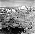 Mount Katmai and Knife Creek Glaciers, terminus of valley glaciers, August 26, 1969 (GLACIERS 7040).jpg
