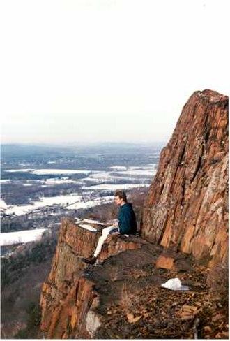 Metacomet Ridge - View from Mount Tom, Massachusetts, highest traprock peak of the Metacomet Ridge