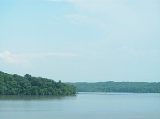 Piscataway Creek - Mouth of Piscataway Creek, as seen from across the Potomac River