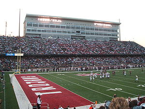Veterans Memorial Stadium (Troy University) - Image: Movie Gallery Stadium