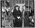 Mrs. Woodrow Wilson, left and Mrs. Henry Wallace LCCN2016871513.jpg