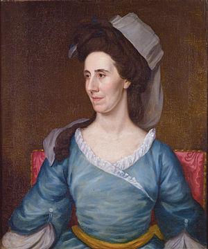 Elias Boudinot - Hannah Stockton Boudinot (1736–1808), by Matthew Pratt