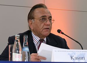Khurshid Mahmud Kasuri - Kasuri speaking at the 40th Munich Security Conference.