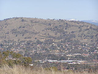 hill in the Australian Capital Territory
