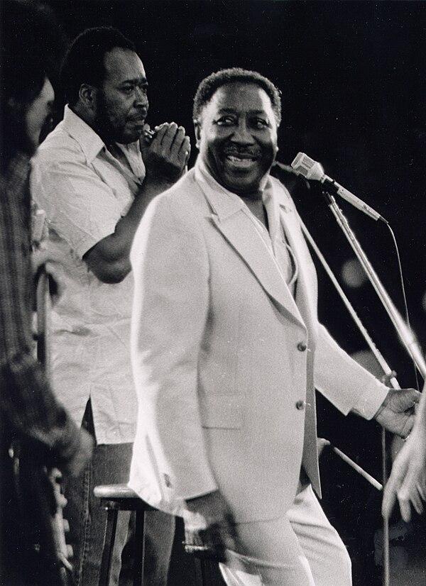 Photo Muddy Waters via Wikidata