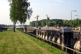 Dortmund–Ems Canal - Münster lock