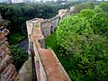 Mura aureliane veduta dal Museo delle Mura - panoramio.jpg