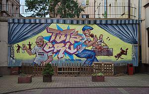 TATS CRU - TATS CRU mural in Lodz, Poland