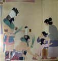Mural showing Native Americans by artist Gerald Nailor at the Interior Department Building, Washington, D.C LCCN2013634076.tif