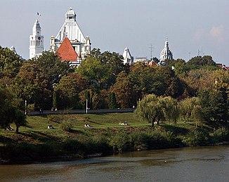 The Mureș near Arad