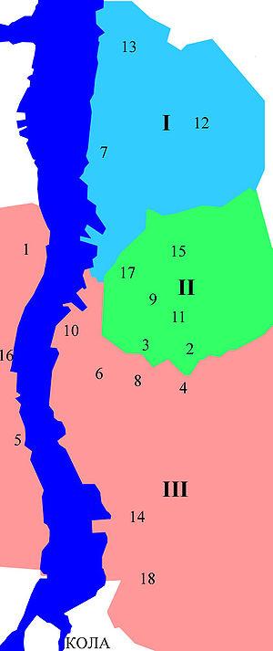 Проспект Кирова, 44 на карте Мурманска - картология