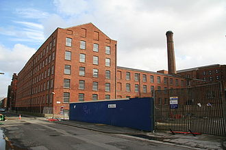 Murrays' Mills - New Mill in 2008, part of the Murrays' Mills complex.