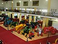 Museu Agromen de Tratores e Implementos Agrícolas, localizado no complexo do Centro Hípico e Haras Agromen em Orlândia. Entrada do museu visto do piso superior. - panoramio.jpg