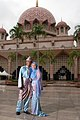 Muslim couple Malaysia traditional dress.jpg