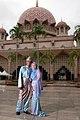 Muslim couple Malaysia traditional dress.jpg