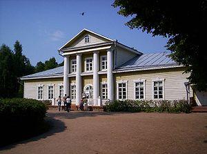 Kunyinsky District - The Chirikov Estate, currently hosting the Modest Mussorgsky Museum Reserve