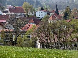 Der Ort Silges in der Gemeinde Nüsttal