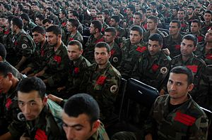 National Military Academy of Afghanistan - Cadets and instructors
