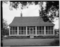 NORTHWEST FRONT - Matthew Edmund Rylander House, Old Plains Highway (near Highway 280), Plains, Sumter County, GA HABS GA,131-PLAIN,20-1.tif