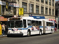 NYC Transit New Flyer D60HF #5400 works the Bx...