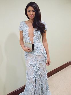 Nadine at Metro Manila Film Festival MMFF) Awards Night 2013