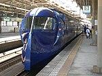 Nankai 50000 Rapit in Tengachaya Station1 DSCN3291 20120831.JPG
