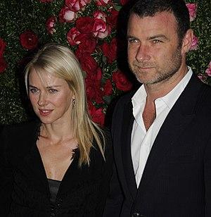 Liev Schreiber - Schreiber with Naomi Watts in 2012
