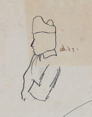 Chaim Koppelman - 1929 sketch