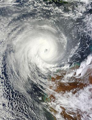2012–13 Australian region cyclone season - Image: Narelle Jan 11 2013 0240Z