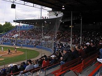 Scotiabank Field at Nat Bailey Stadium - Scotiabank Field at Nat Bailey Stadium main grandstand