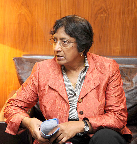 Photo: Navi Pillay | Credit: Wikimedia Commons