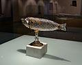 Naveta amb forma de peix, segle XVI, anònim (Venècia o Milà) Museu Diocesà d'Albarrasí.JPG